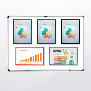 Hot Selling Magnetic Document Holder File Folder Visual Management Lean Tool For Office Factory and Warehouse