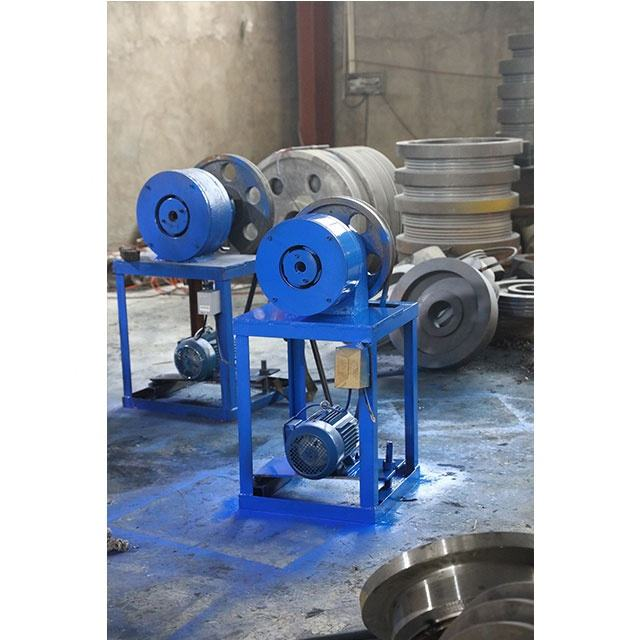 Conical tube shrinking machine grouting small pipe taper forming processing equipment Pointed tube shrinking machine