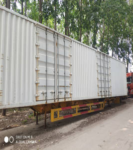 used dry van semi-trailer box trailer for sale