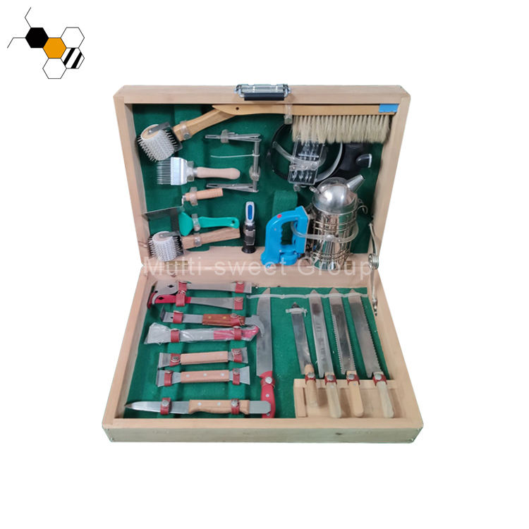 Apicultura Frame grip Bee brush Hive tools Bee smoker multi-function beekeeping tools box