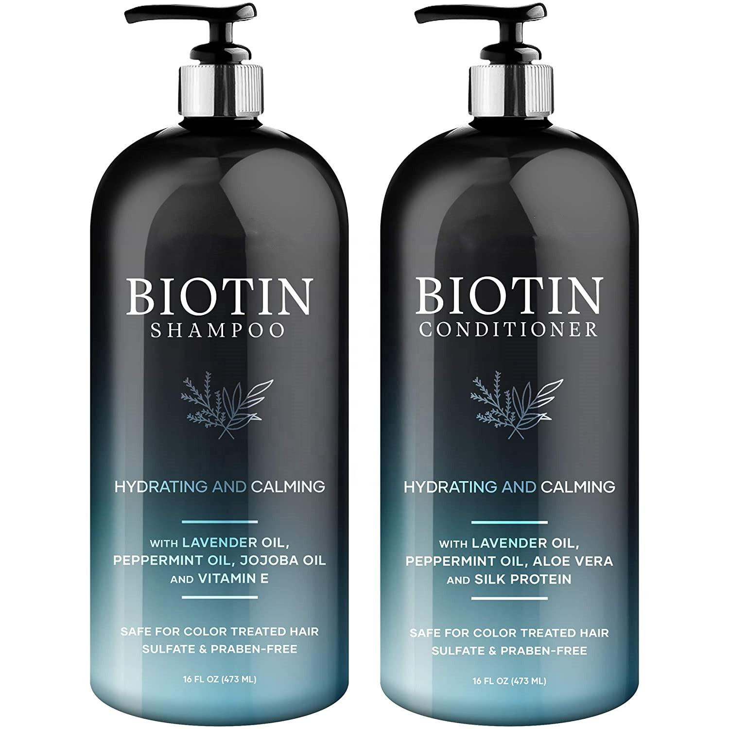 Private Label Hair Biotin Shampoo Best Hair Care Products for Blonde Hair Treatment Shampoo