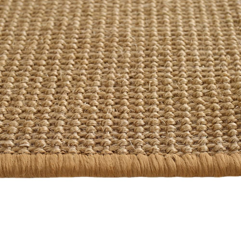 Anti-Slip Natural Fiber Carpets Seagrass Sisal Mat Jute Carpets Door Mats Livingroom Carpets