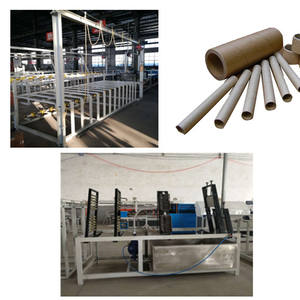 Full automatic paper cone making machine for textile yarn