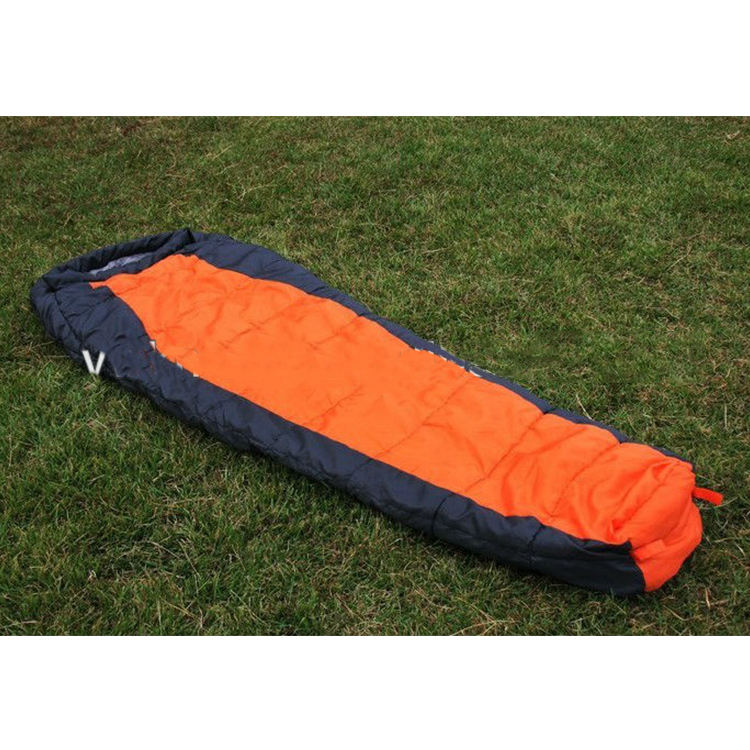 3season envelop stock sleeping bag with cap,camouflage sleeping bags
