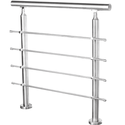 China Great Manufacturer Railing Stainless Balcony Railings Glass Handrail