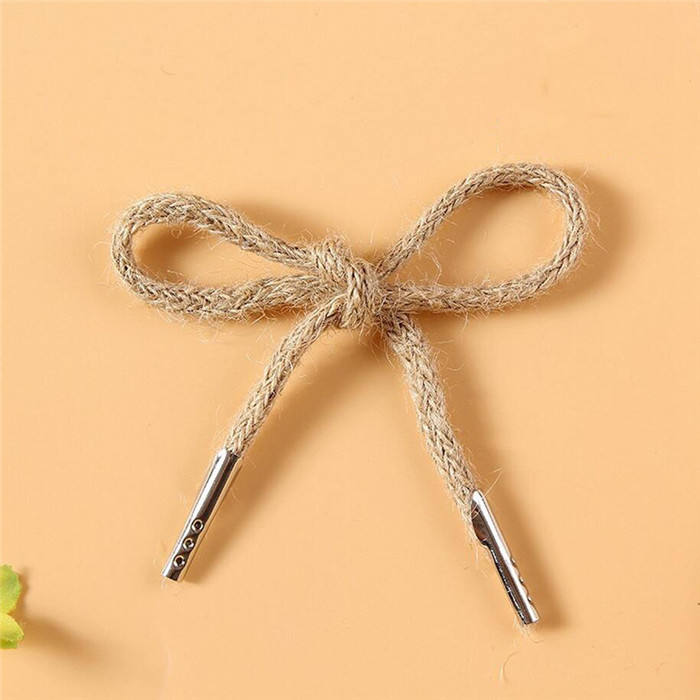 Wholesale Cheap Paper Bag String Jute Rope Handle With Metal