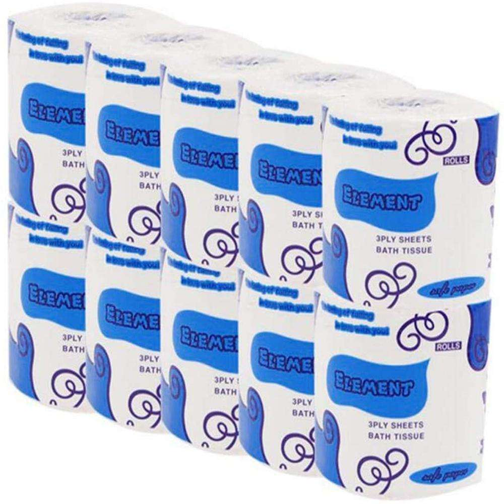 3-Ply Professional Great Value Strong Soft Toilet Bathroom Kitchen Tissue Paper Towels Rolls