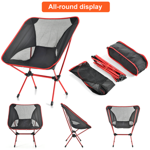 Tianye custom ultralight aluminum frame portable folding compact relax outdoor camping chair for beach hiking