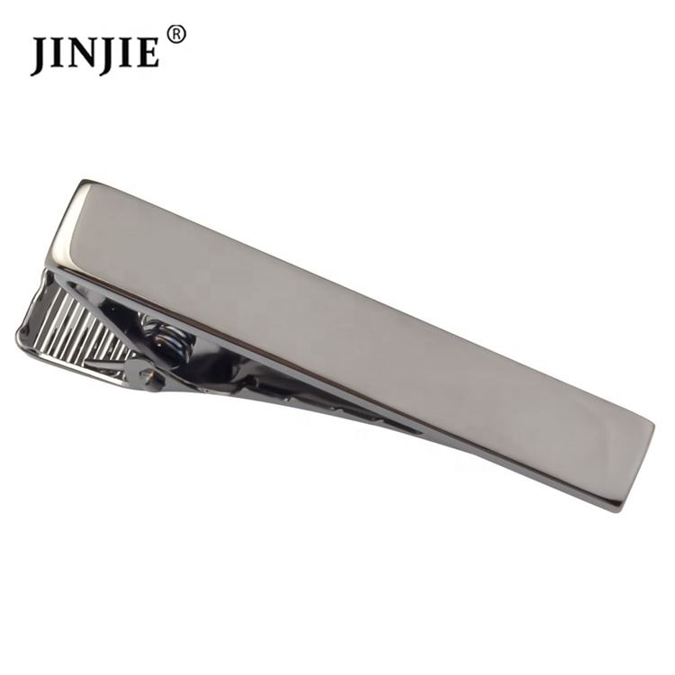 Wholesale cheap copper gunmetal red blue color men skinny tie clip set