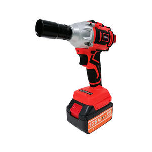 Electric Brushless Motor Cordless Impact Torque Ratchet Wrench With LED Light Power Wrench