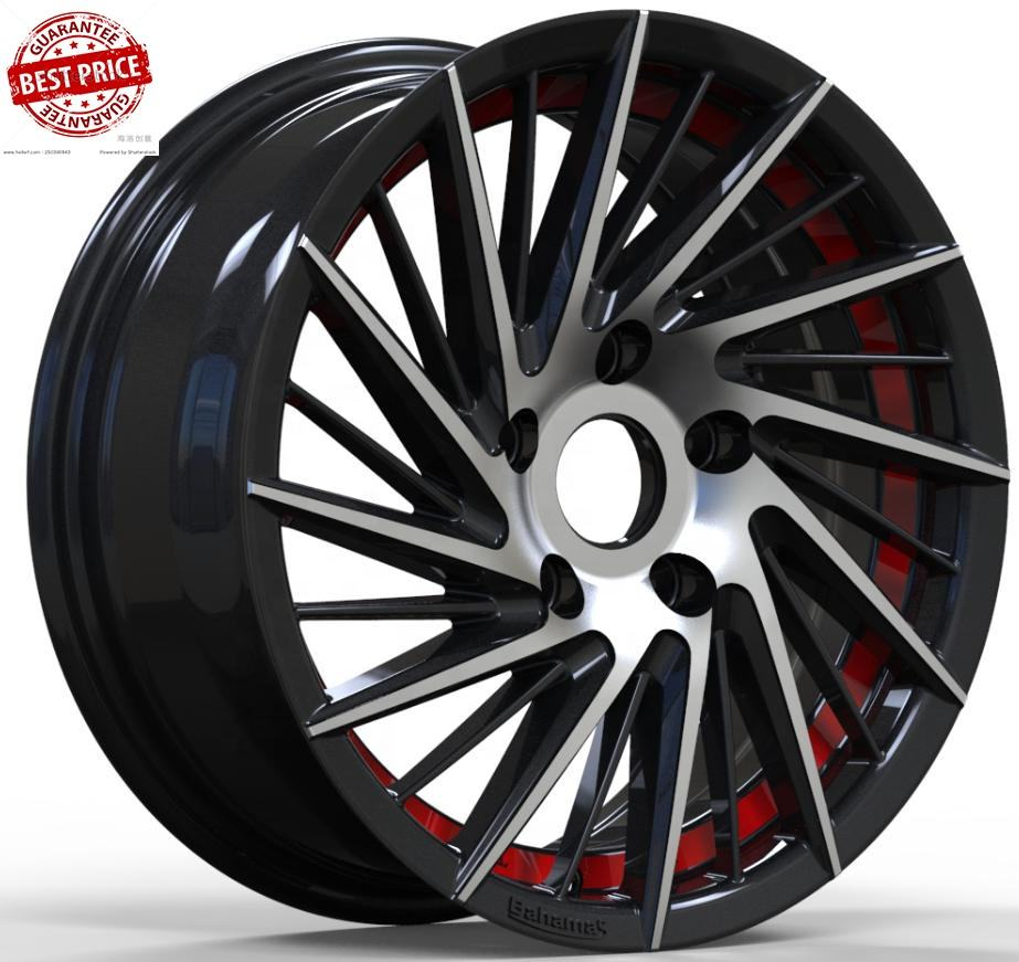 Passenger car wheel rim 14 15 16 inch llantas para autos tires manufacture's in china 5x114.3 racing wheels vehicles-accessories