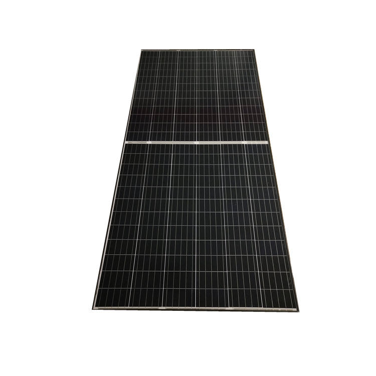 Mono solar panels full black 395 400 410 half cell 144 bright your sustainable future