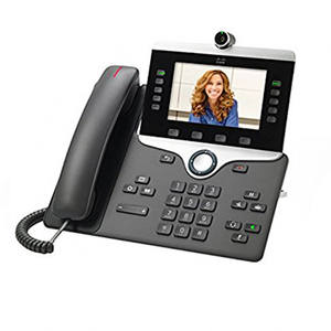 Cisco 8800 Series IP Phone CP-8845-K9 Baru Asli Refresh Jaringan VoIP Unified Wireless Multi Charger Telepon