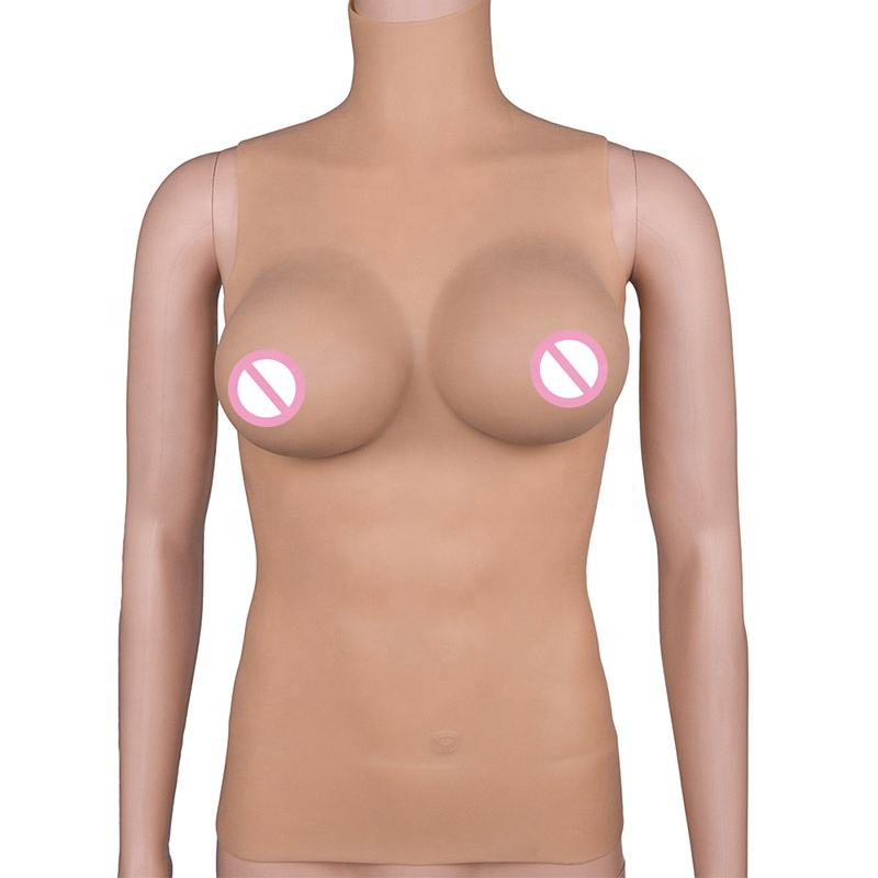 Newest E Cup Lifelike Breast Forms Crossdresser Artificial Realistic Breast for Woman Mammectomy Boobs Tits