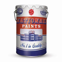 National waterproof emulsion paint in building coating
