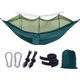 Fast Delivery LOW MOQ Low Price Custom Nordic Style Outdoor Travel Double Hammock Mosquito Camping