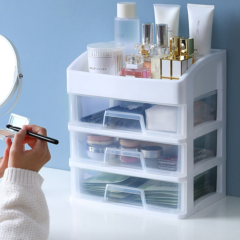 Premium Multilayers Transparent Free Sample Acrylic Makeup Organizer For Girl Make Up Stuff
