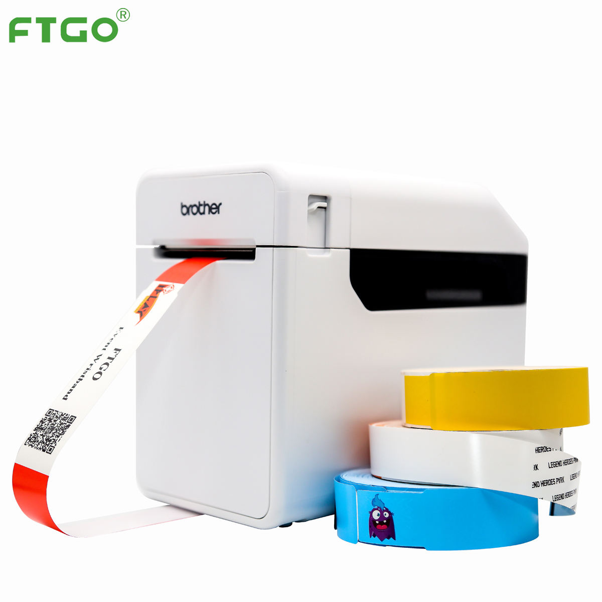 Ftgo Thermische Polsband Of Thermische Transfer Printen Machine Brother Barcode Hoge Snelheid Label <span class=keywords><strong>Printer</strong></span>