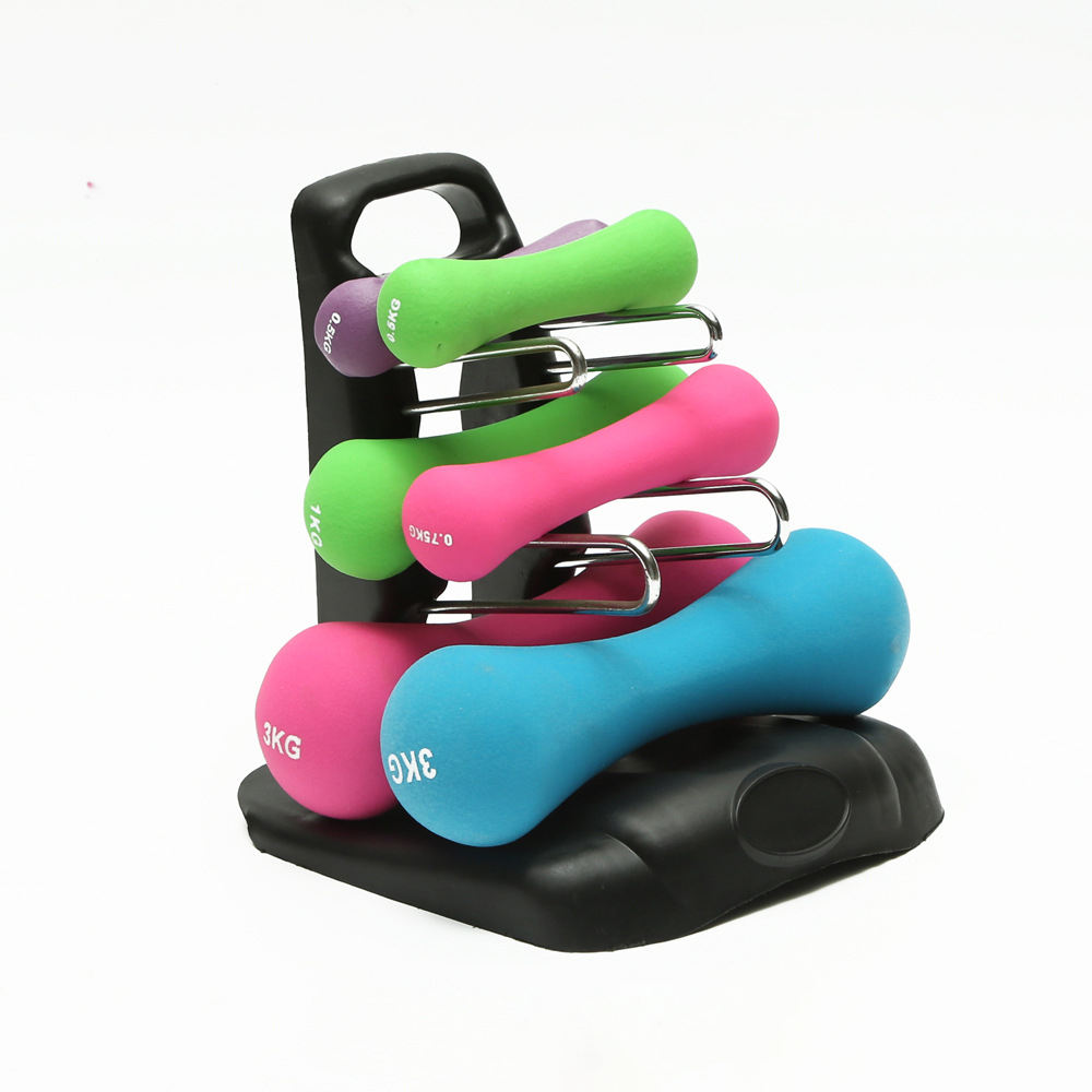 Hot Home Fitness Equipment Storage Triangle Dumbbell Stand RackためGym