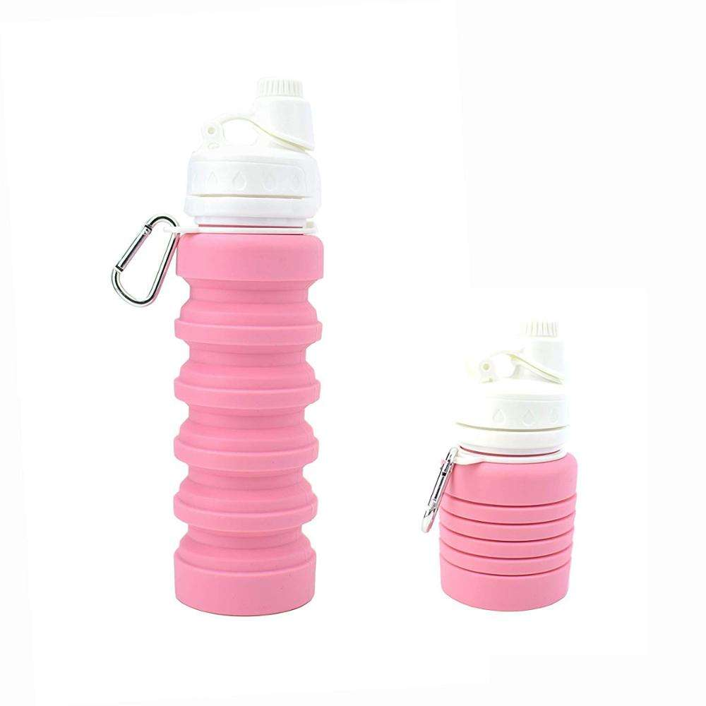 4 Factory Audits Manufacturer Silicone Non-toxic BPA free Flexible water bottles cycling