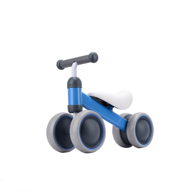 2019 upgrade Newest 4 Wheel Kids scooter / balance bike / Swing car