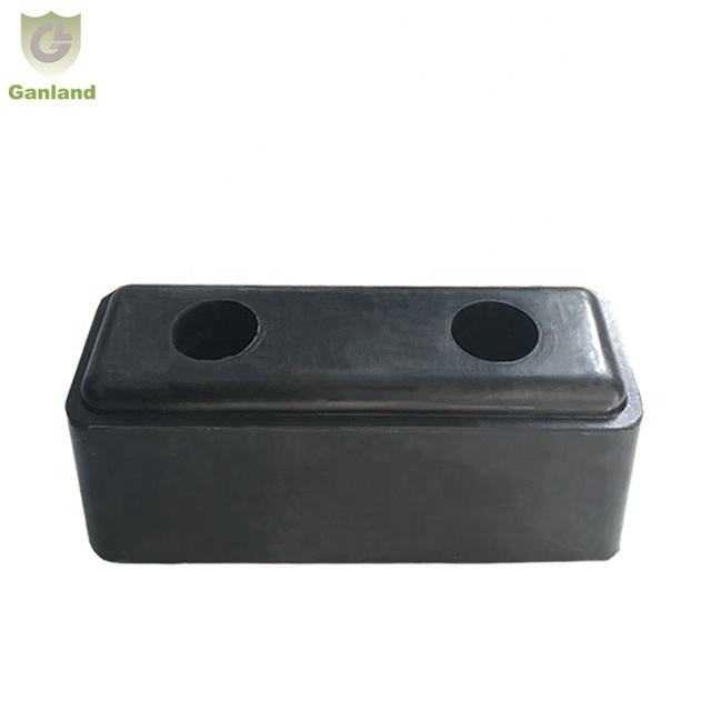 GL-23114 Heavy Duty Rubber Buffer Bump Block 195x80x80