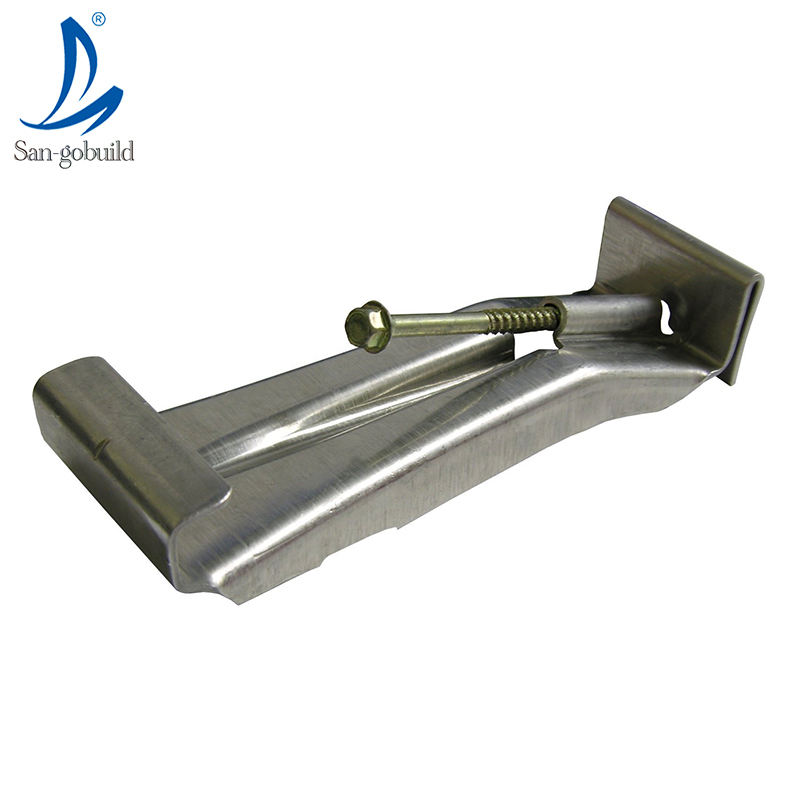 Modern villa roofing drainage using aluminum rain gutter system metal roof water collecting channel steel rain gutter hangers