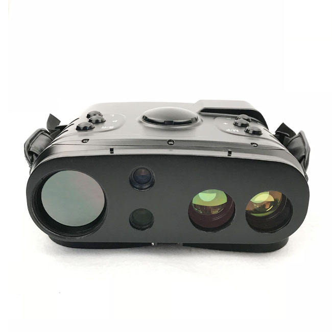MIlitary infrared thermal imaging cooled binocular with GPS,electrics compass,laser range finder function