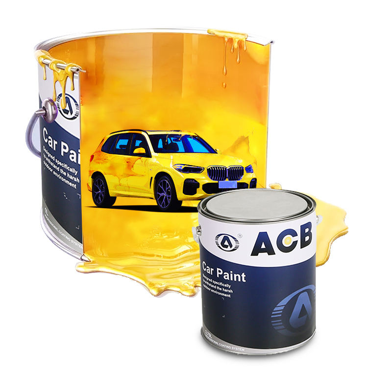 Good Price 1K or 2K Car Paint Manufacrurer Auto Refinish Car Coat Pintura Auto