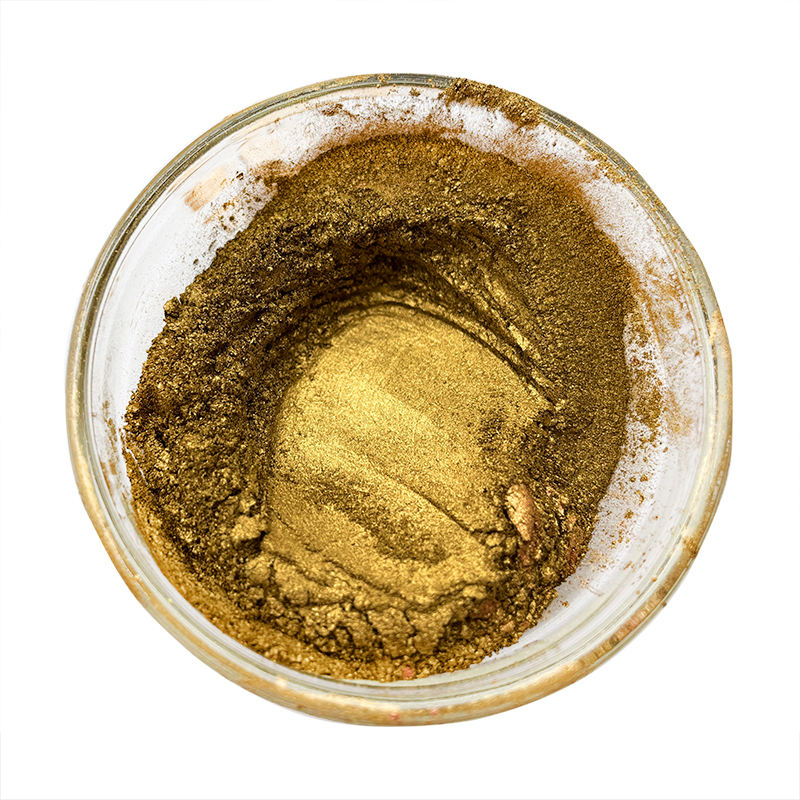 25kg/drum pure golden pale bronze powder pigment for coat paint