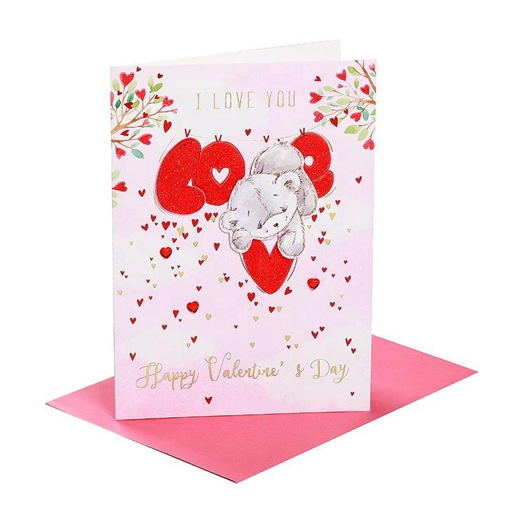 День святого валентина объемные открытки