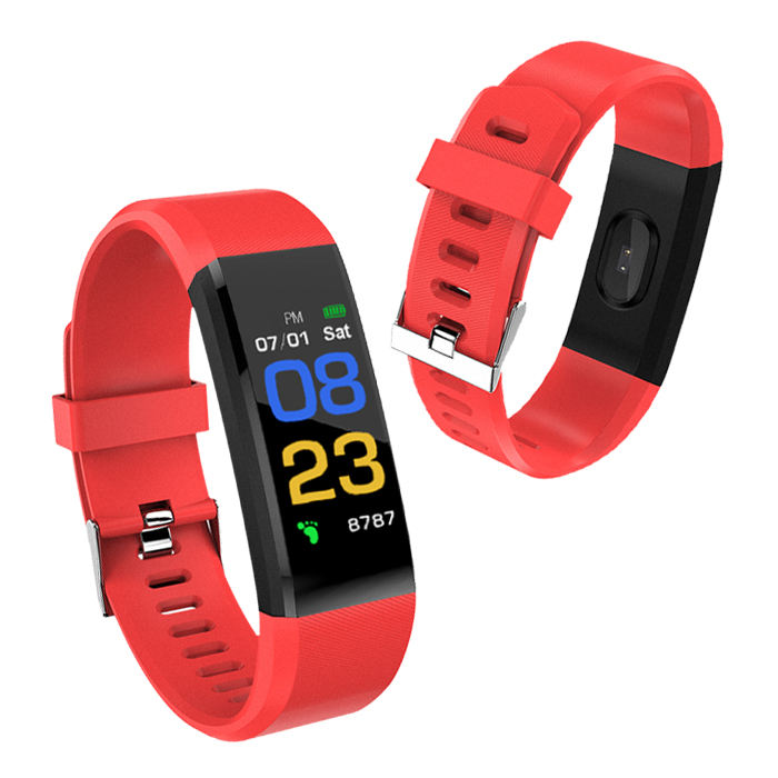 Smart watch smart bracelet smart phone and heart rate color screen sports pedometer bracelet