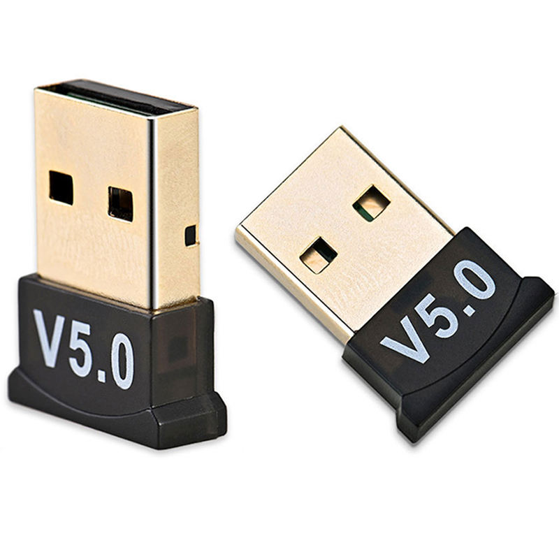 Mini Portable USB bluetoothアダプタ5.0/4.0 Bluetooth Module受信機Wireless USB DongleためComputer Laptopアンドロイド