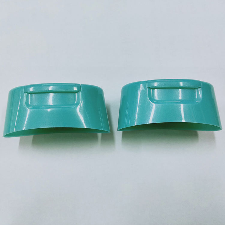Snap neck Plastic shampoo flip top bottle cap can be make any color