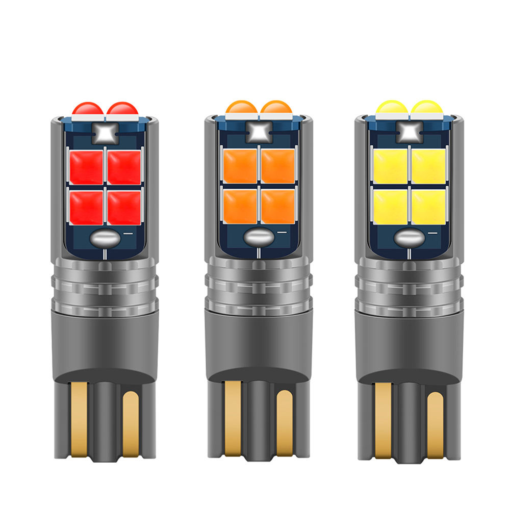 Hohe Qualität <span class=keywords><strong>T10</strong></span> <span class=keywords><strong>W5W</strong></span> Super Helle Auto Innen Lesen Dome Licht Marker Lampe 168 194 LED Auto Wedge Parkplatz Bulbs orange