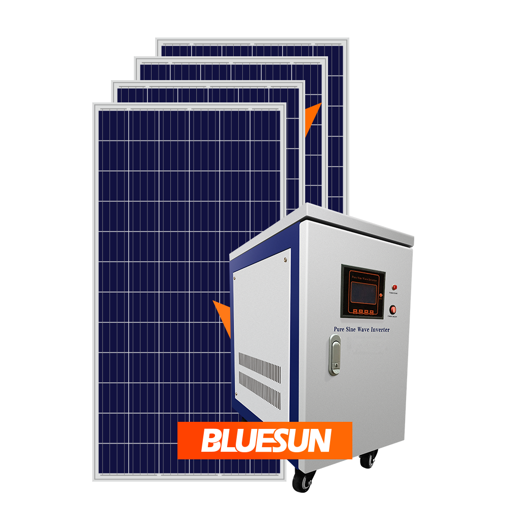 Cheapest solar panel 15kw home solar system price 15kw 12kw 10kva 20kw hybride solar generator