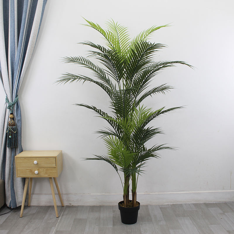 Wholesale Faked Palm Tree PlantsためGarden Decor Artificial Palm Tree UV Resistant Indoor/OutdoorためOnline Retailer