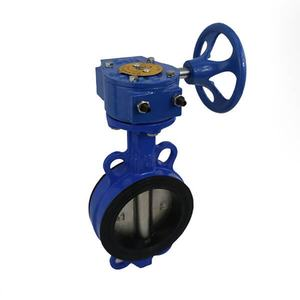 Wholesales DI DISC Wafer Butterfly Valve Manufacturer One stem