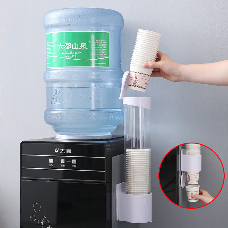automatic cabin plastic coffee paper vending machine cup holder dispenser
