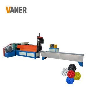 Vaner Pp Huisdier Pvc Hdpe Crash Recycle Fles Machine/Dubbele Roller Granulator Machine/Dubbele Schroef Extruder