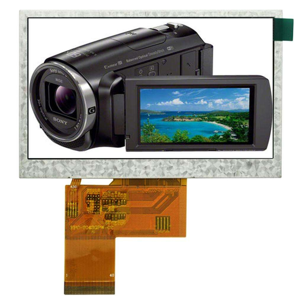 SSWEYE hot selling 40 pin RGB interface 4.3 inch tft display 480x272 lcd module