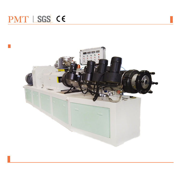 Customization Extruder And Mould For Make Wood Plastic Profile Extrusion Machine