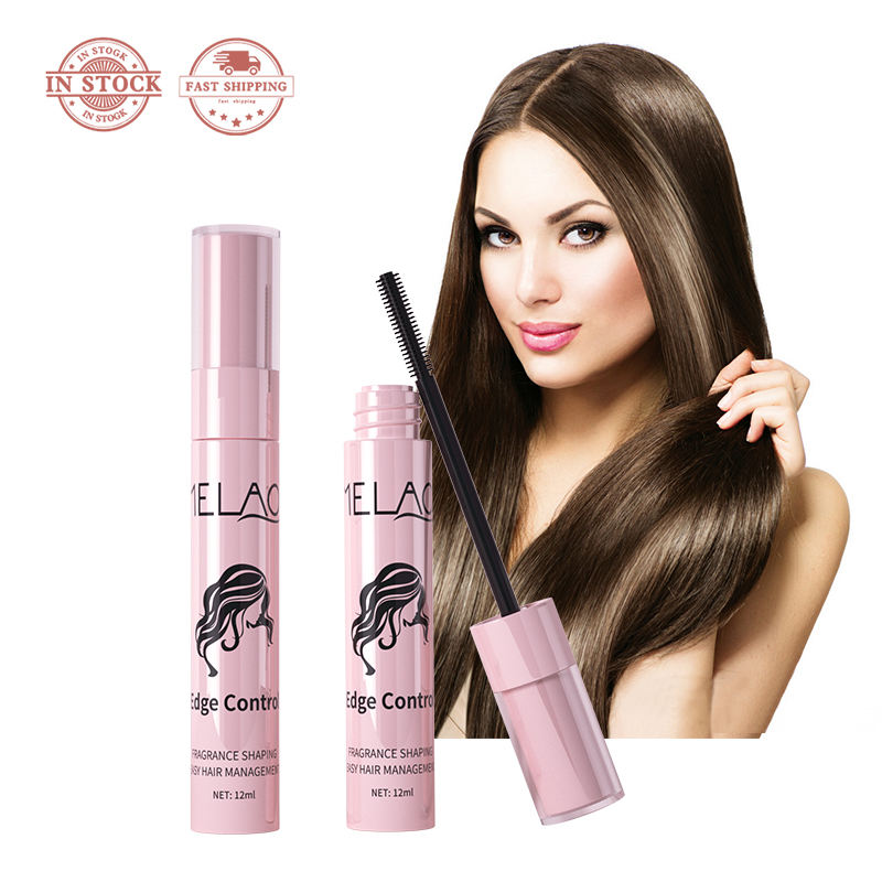 Hair finishing stick strong styling base women professional scented edge control for private label hair wax stick