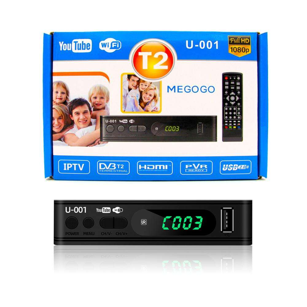 Junuo ספק h.264 מפענח קולומביה tdt dvb t2 עם Wifi Youtube