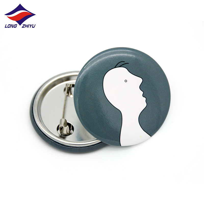 Longzhiyu 14 years china pins button supplier make your own button pins custom button badges