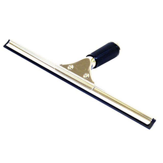 Bathroom Tools Metal Squeegee Wiper Window Cleaning Shower Squeegee Black Glass Wiper Shower Squeegee Stainless Steel