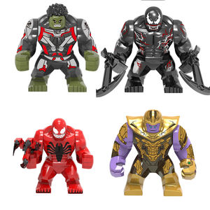 Mini Action Figure Plastic Building Blocks Superhero Movie Model Legoes Brick Blocks for Kids Toys