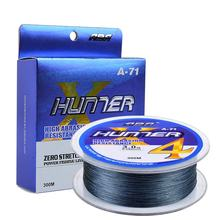 4strand 300m PE braid accessory Multifilament fishing lines with equipment fishing