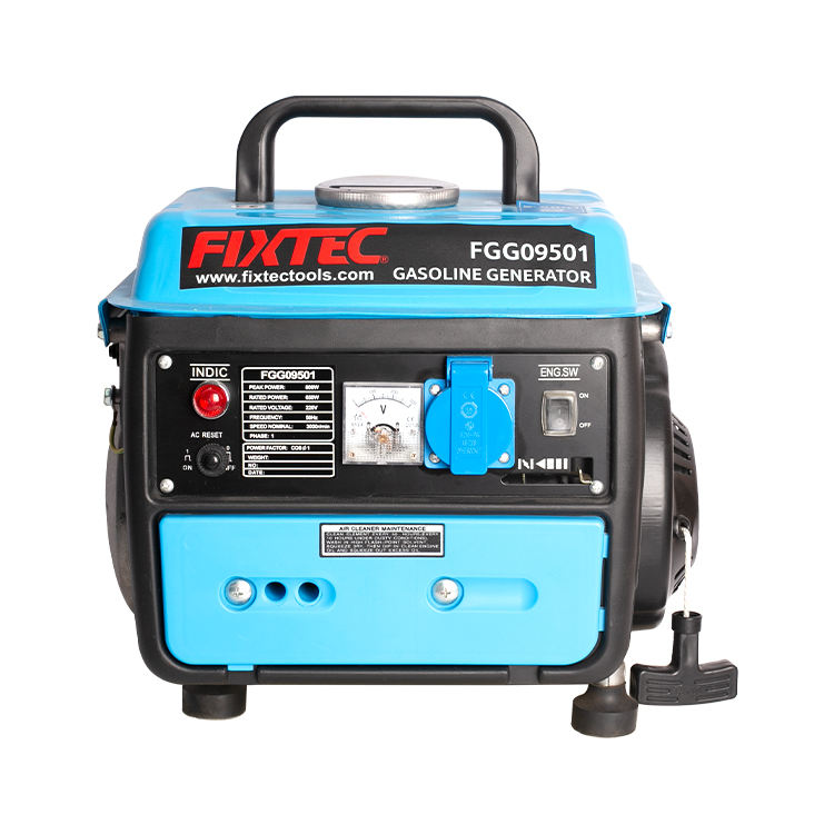FIXTEC Power Tools Portable 800W Mini Gasoline Generator