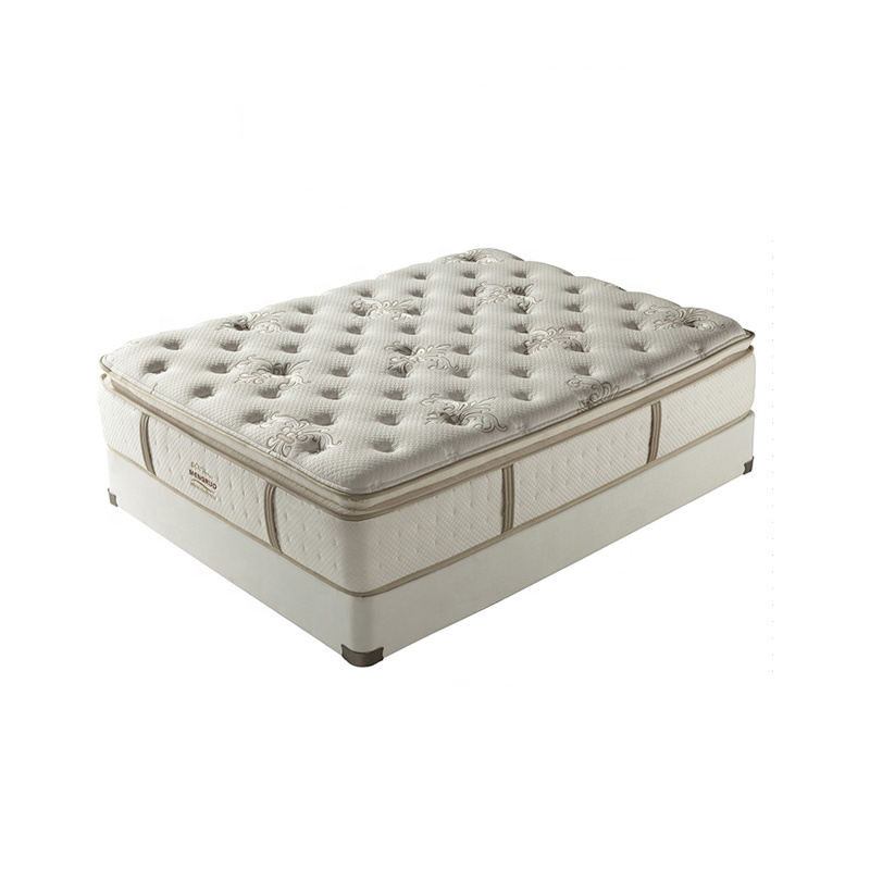 Hotel gecomprimeerd queen size pocket spoel lente bed matras